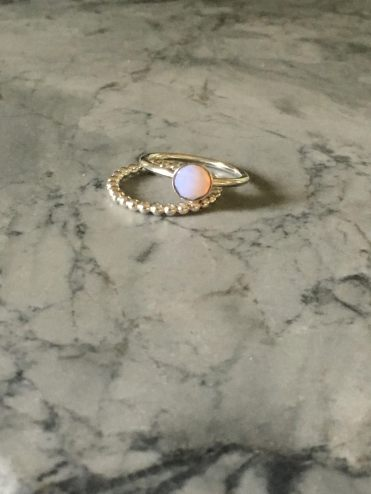 Lattes and all things Lovely - Stackable Pink Rings