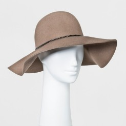 Light Brown Floppy Hat