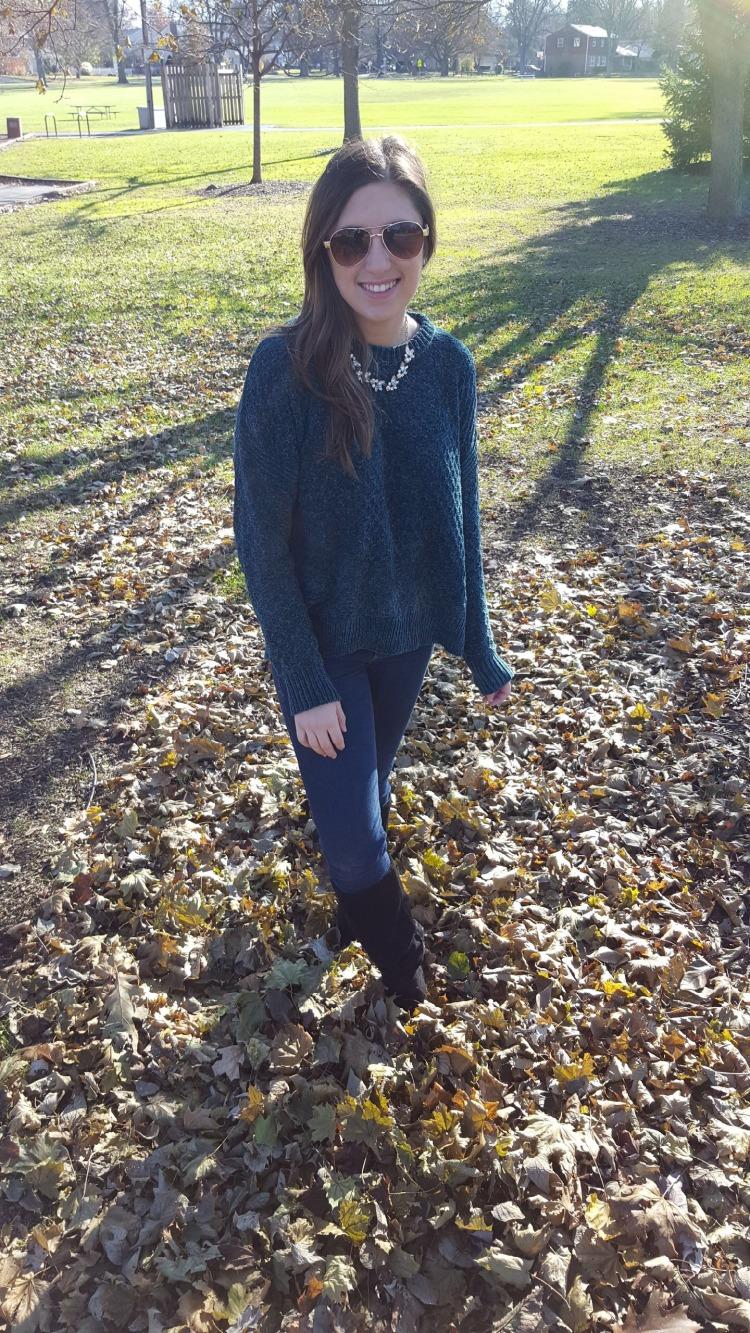 Emerald Sweater 1