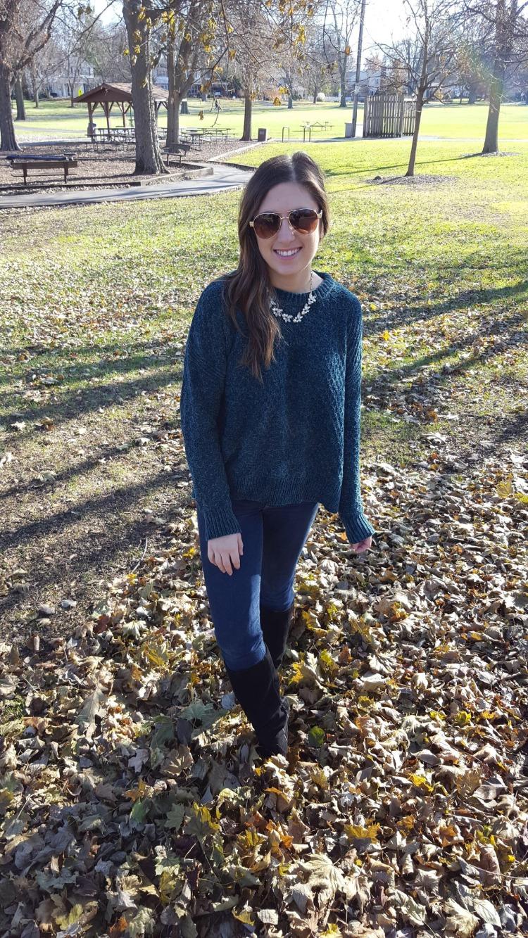 Emerald Sweater 2
