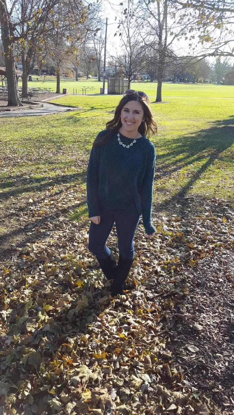 Emerald Sweater