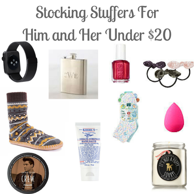 Stocking Stuffers For Him and Her Under $20