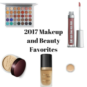 2017 Makeup and Beauty Favorites