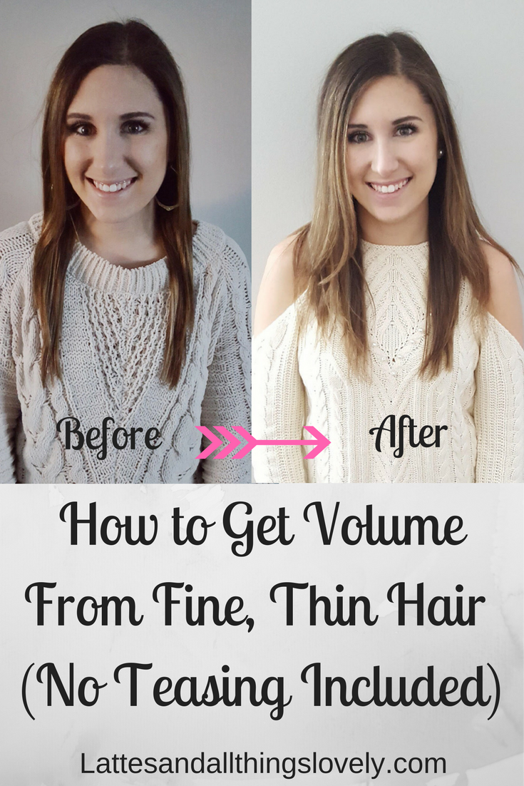How to Get Volume From Fine, Thin Hair (No Teasing Included)