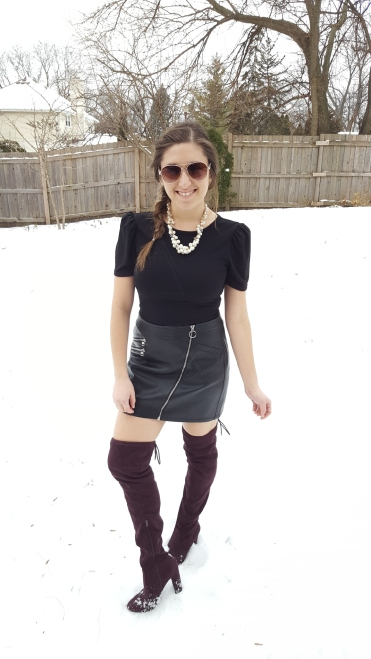 Ways to Wear a Mini Skirt This Winter 1