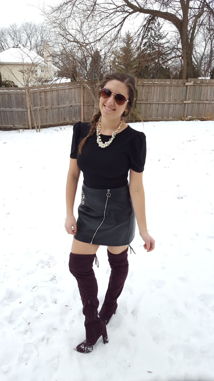 Ways to Wear a Mini Skirt This Winter 2