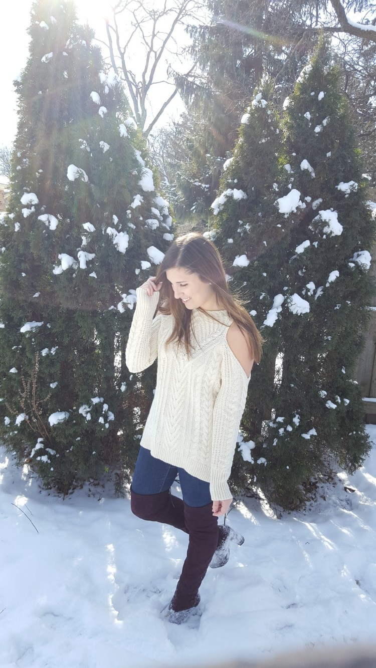 Winter Trends - Cold Shoulder and OTK Boots 6