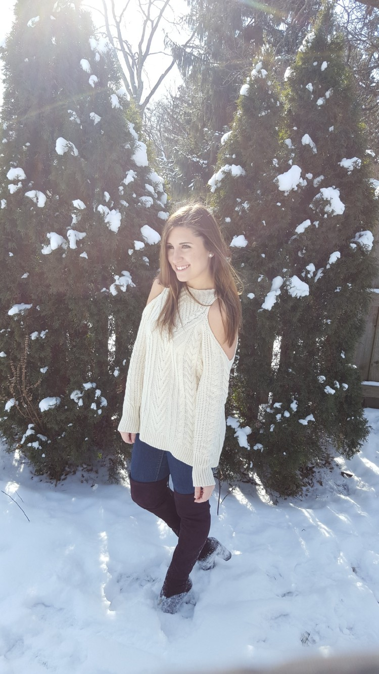 Winter Trends - Cold Shoulder and OTK Boots 8