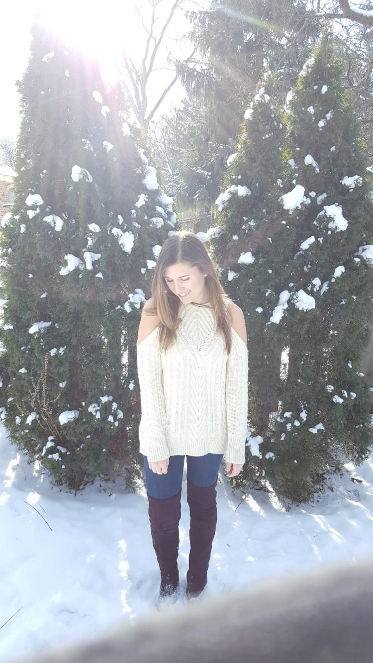 Winter Trends - Cold Shoulder